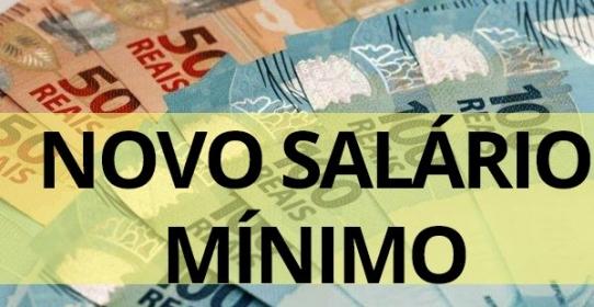Imagem da notícia: Salário mínimo sobe para R$ 1.045