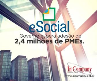 Imagem da notícia: eSocial: Governo espera adesão de 2,4 milhões de PMEs