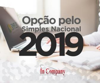 Imagem da notícia: Opção pelo Simples Nacional 2019