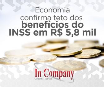 Imagem da notícia: Economia confirma teto dos benefícios do INSS em R$ 5,8 mil