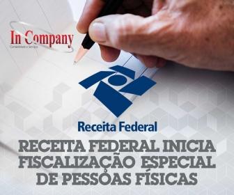 Imagem da notícia: Receita Federal inicia fiscalização especial de pessoas físicas